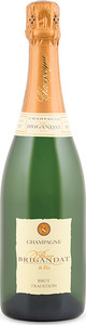 Pierre Brigandat & Fils Tradition Brut Champagne, Ac Bottle