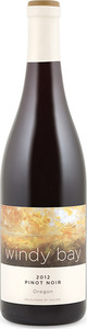Windy Bay Pinot Noir 2012, Oregon Bottle