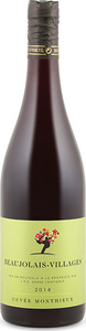 Jean Paul Dubost Cuvée Monthieux Beaujolais Villages 2014, Ap Bottle