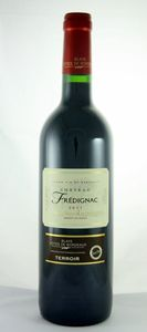 Château Frédignac Terroir 2012, Ac Blaye Côtes De Bordeaux Bottle