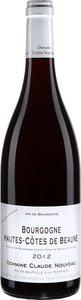Domaine Claude Nouveau Hautes Côtes De Beaune 2012, Bourgogne Bottle