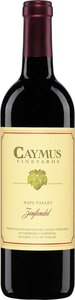 Caymus Vineyards Napa Valley Zinfandel 2013 Bottle