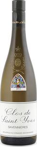 Domaine Des Baumard Clos Saint Yves Savennières 2012, Ac Bottle