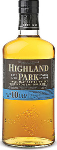 Highland Park 10 Ans Scotch Single Malt Bottle