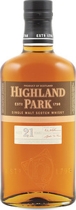 Highland Park 21 Year Old Single Malt, Orkney Islands (700ml) Bottle