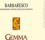 Barbaresco Gemma 2008 Bottle