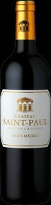Chateau Saint Paul Haut Medoc 2009 Bottle