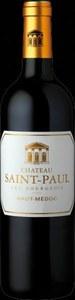 Chateau Saint Paul Haut Medoc 2009 Bottle