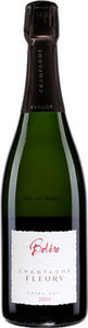 Champagne Fleury Boléro 2004, Champagne Bottle