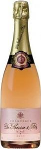 De Sousa & Fils Champagne Rosé Bottle