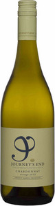Journey's End Destination Chardonnay 2014, Stellenbosch Bottle