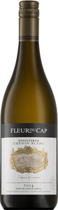 Fleur Du Cap Unfiltered Chenin Blanc 2014, Western Cape Bottle