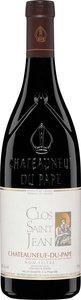 Clos St Jean Châteauneuf Du Pape 2012 Bottle