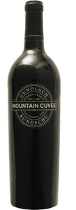 Gundlach Bundschu Mountain Cuvée 2012, Sonoma County Bottle