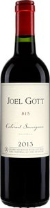 Joel Gott 815 Cabernet Sauvignon 2013, California Bottle