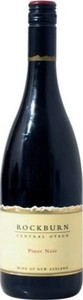 Rockburn Pinot Noir 2012, Central Otago Bottle