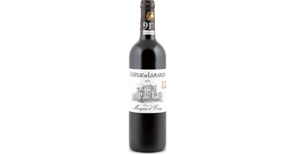 Ch 226 Teau De Lamarque 2010 Expert Wine Ratings And Wine