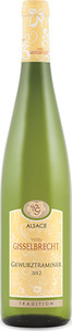 Willy Gisselbrecht Tradition Gewurztraminer 2013, Ac Alsace Bottle