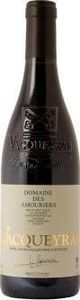 Les Amouriers Signature Vacqueyras 2012, Ap Bottle