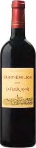 La Fleur Anne 2012, Ac Saint émilion Bottle