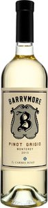 Barrymore Pinot Grigio Carmel Road 2013 Bottle