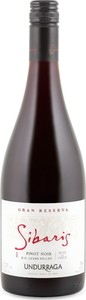 Undurraga Sibaris Gran Reserva Pinot Noir 2013, Leyda Valley Bottle