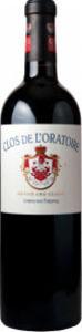Château Clos De L'oratoire 2011, Ac Saint émilion Grand Cru Classé Bottle