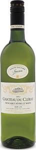 Chateau Du Cleray Muscadet Sevre Et Maine 2014 Bottle