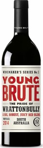 Young Brute Red Blend 2014, Wrattonbully Bottle