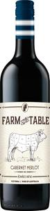 Farm To Table Cabernet Merlot 2012 Bottle