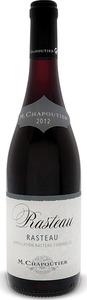 M. Chapoutier Rasteau 2013 Bottle