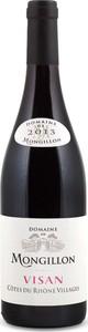 Visan Domaine De Mongillon 2014, Cotes Du Rhone Villages Bottle