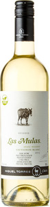 Miguel Torres Las Mulas Reserva Sauvignon Blanc 2015 Bottle