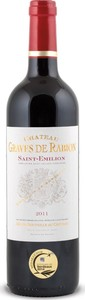 Chateau Graves De Rabion 2012, St. Emilion Bottle