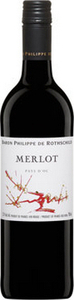 Philippe De Rothschild Merlot 2013, Pays D'oc Bottle