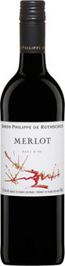 Philippe De Rothschild Merlot 2014, Pays D'oc Bottle