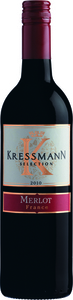 Kressmann Selection Merlot 2014, Vin De France Bottle