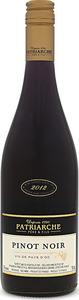 Patriarche Pinot Noir 2014, Vin De Pays D'oc Bottle