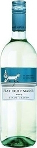 Flat Roof Manor Pinot Grigio 2015, Western Cape Bottle