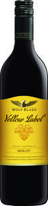 Wolf Blass Yellow Label Merlot 2014, Langhorne Creek Mclaren Vale Bottle