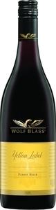 Wolf Blass Yellow Label Pinot Noir 2014, South Australia Bottle