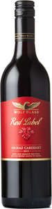 Wolf Blass Red Label Shiraz/Cabernet Sauvignon 2015, South Eastern Australia Bottle