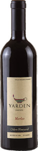 Yarden Odem Vineyard Merlot 2010 Bottle
