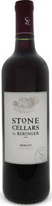 Beringer Stone Cellars Merlot 2013, California Bottle