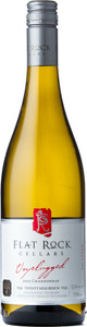 Flat Rock Unplugged Chardonnay 2014, VQA Twenty Mile Bench, Niagara Peninsula Bottle
