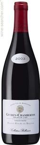 "Roche De Bellene Gevrey Chambertin ""Collection Bellenum"" 2001 Bottle"