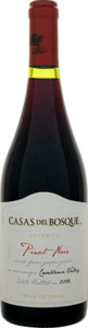 Casas Del Bosque Reserva Pinot Noir 2014, Casablanca Valley Bottle