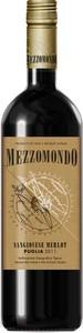 Mezzomondo Sangiovese Merlot 2014, Puglia Bottle