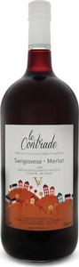 Le Contrade Sangiovese Merlot 2013, Lazio Igp (2000ml) Bottle