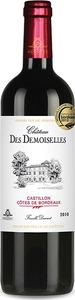 Château Des Demoiselles 2010, Ac Castillon   Côtes De Bordeaux Bottle